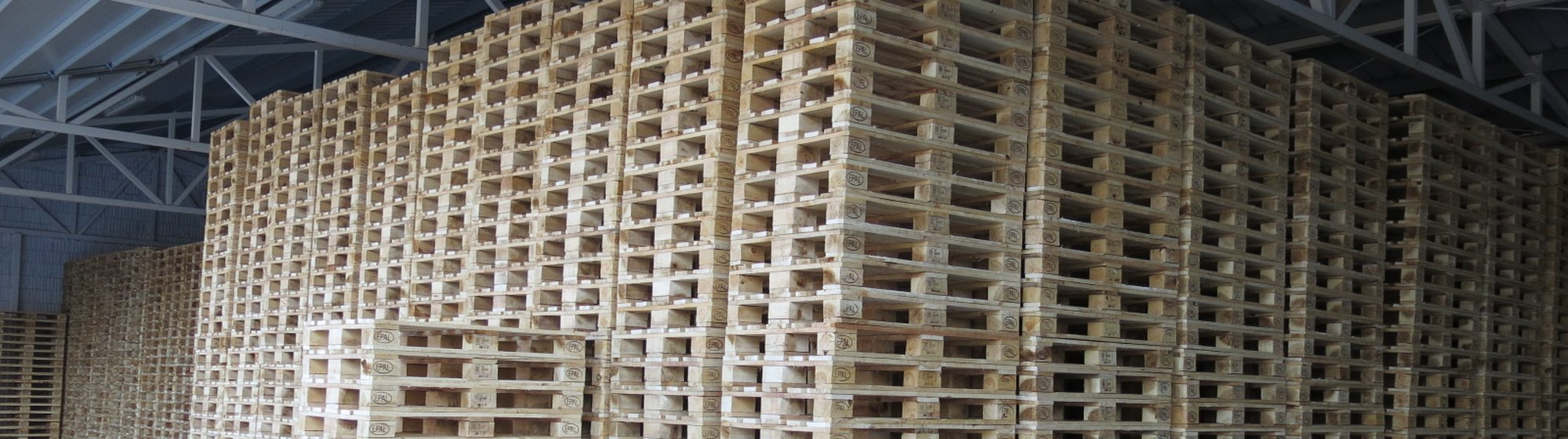 Preparation of UIC-EUR, EPAL and special pallets